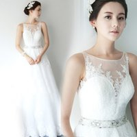 beautiful eyes pictures - 2016 A New Winter Lace Shoulder Halter Dress Perspective The Princess Bride Ground Length Beautiful Confortable White Eye contracting B