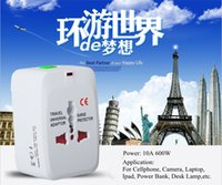 Wholesale High Quality Universal Travel Adaptor All in One Travel Charger for Cellphone Tablet UK EU US AU Standard10pcs