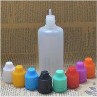 Wholesale Fast Shipping Soft Style Needle Bottle ml Plastic Dropper Bottles Child Proof Caps LDPE E Cig E Liquid Empty Bottle