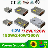 Wholesale CE UL SAA V A A A A A A Led Transformer W W W Power Supply For Led Modules Strips X