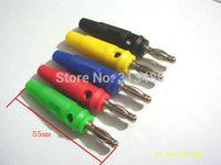 banana plug terminals - Colors MM Banana Plug Audio Speaker Connectors Amplifier Speaker Binding Post mm Banana Jack Plug For Cable Terminals