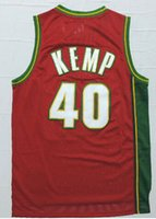 Wholesale Shawn Kemp Throwback SEATTLE Hardwood jersey size extra small XS xl