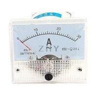 Digital Only 0.01-1 AC/DC Wholesale-Screw Mounting Analog AC 0-30A Scale Range Ampere Ammeter Panel Meter White