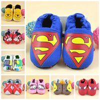 Wholesale Lovely Styles Baby Moccasins Baby Boys Girls Shoes Infant Soft Sole First Walker Shoes Cheap Slip On Newborn Prewalker Toddler Shoes