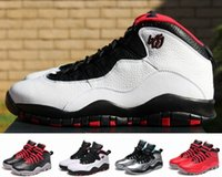 Wholesale 2016 New Retro X Men Basketball Shoes High Quality Bulls OVO AJ Over Broadway Sport Training Boots Mens Athletic Sneakers