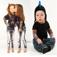 arm sleeves kids - Cheap Children Carton Tattoo Sleeves Kids Tattoo Arm Sleeves simulation Tattoo Sleeves Body Art