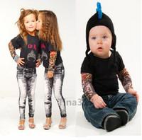 armed cheap - Cheap Children Carton Tattoo Sleeves Kids Tattoo Arm Sleeves simulation Tattoo Sleeves Body Art