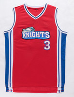 basketball movie - 2016 New Style Like Mike Movie Jersey Knights Team Cambridge Men s Los Angeles Hollywood Stitched Basketball Jerseys