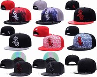 Wholesale Chicago White Sox Snapback Hats New Arrival Men s Classic Baseball Sports Team Embroidered Adjustable Flat Caps Mix Orders Acceptted