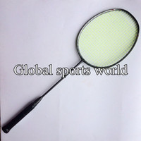 Wholesale PC U g N80 Badminton racket D Blade Badminton Racket T jiont Dark grey