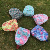 Wholesale BLANKSMALL Inspired Backpack Crown Jewel Sailboat Starfish Sea Talo Regatta Shell Pattern School Bag DOM362