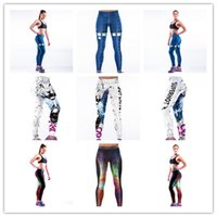 Wholesale Women Compression Sports Yoga Pants Gear Elastic Exercise Tights Female Fitness Running Trousers Gym Yoga Slim Legging