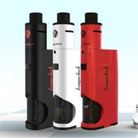 Wholesale Kanger Dripbox Kit Clone with KangerTech Subdrip Tank Dripmod Box Mod Vaporizer Vapes Wide Bore Drip Tip Black White Red Color