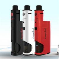 bears white - Kanger Dripbox Kit Clone with KangerTech Subdrip Tank Dripmod Box Mod Vaporizer Vapes Wide Bore Drip Tip Black White Red Color