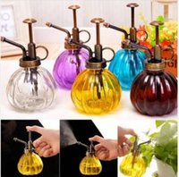 best hand sprayer - ml Retro Hand Pressure Glass Spray Bottle Garden Plant Watering Can Tool Your Best Choice