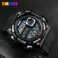 Wholesale Favourite skmei mens digital top brand outdoor plastic watch Multifunction Clock fashion waterproof Child simple watches