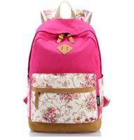 Wholesale 2016New female mochila bolsas women ethnic brief canvas backpack preppy style school Lady girl student school Travel laptop bag