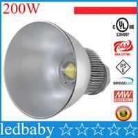 Wholesale 200W LED high bay light years warranty meanwell driver SMD V white K K Fedex watt highbay