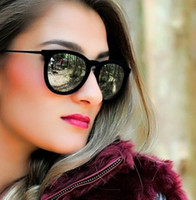 amber velvet - New Hot Metal Frame ERIKA Velvet Sunglasses Men Women Coating Sunglass Lady Glasses Eyewear oculos de sol feminino gafas
