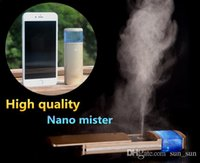 Wholesale Nano Mister Portable Beauty Care Handy Spray Nano Facial Mist Sprayer For Facial Skin Care Strong Mist Usb Recharged