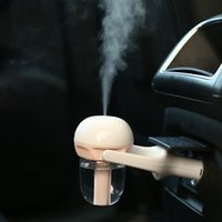 Wholesale 2016 Newest V Car Steam Mini Humidifier Air Purifier Aroma Diffuser Essential oil diffuser Aromatherapy Mist Maker Fogger