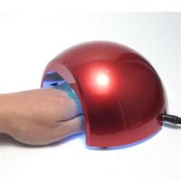 al por mayor lámpara de uñas 12w ccfl-Profesional 12W CCFL UV LED lámpara secadora de uñas para el gel de uñas polaco curación ultravioleta clavos lámpara arte manicura herramientas GI2422