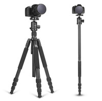 aluminum level tripod - High Quality Professional Magnalium Complete Travel Tripod with Bubble Level and Degree Rotation Ball Head for Canon Nikon Sony