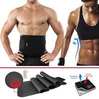 Wholesale 1Pcs Weight Loss Creams Women Men Waist Trimmer Belt Weight Loss Sweat Band Wrap Fat Burner Tummy Stomach Sauna
