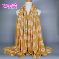 Wholesale COTTON LINEN colors muslim Hijabs for women sunflower brand women s scarves high quality shawl BS150