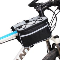 Wholesale Outdoor Bicycle Riding Bike Bag Waterproof Sport Cycling Mountain Bike Multifunctional Pouch Front Tube Bags