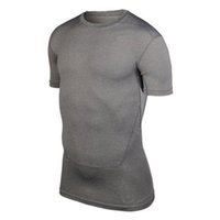 Wholesale S XXL Men Compression Base Layer Tee Shirts Athletic Tops Sports Collection