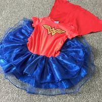 batman cakes - Halloween Hug Me Baby Girls Lace Tutu Dresses Batman Superman Turtle Christmas New Autumn New Party Lace Cake Vest Lace Dress AA
