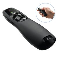 Wholesale 50set R400 Ghz USB Wireless Presenter Laser Pointer PPT Remote Control for Powerpoint Presentation