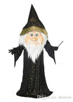 activity wizard - ohlees actual picture sport Wizard Mascot costume for Halloween party activity Fancy christmas adult size
