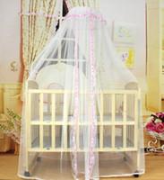 Wholesale Top sale ciel de lit baby Dome courtly style baby cradle bed portable mosquito net canopy para bebes barraca infantil