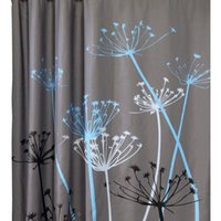 Wholesale Modern PEVA Multi Color Dandelion Pattern D Waterproof Polyester Shower Curtain Bathroom rideau de douche bathroom curtain