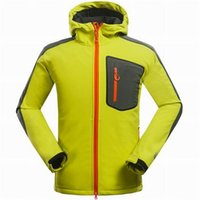 pizex - 2016 Top warm fleece Outerwear Outdoor Sports jackets Windproof Breathable Softshell Men coats Outdoor Hiking Climbing sports Pizex jacket