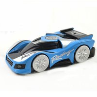 Wholesale Super Climber Rc Car - Wholesale-Super Wall Climbing RC Car Remote Control Climber Ceiling Plastic Cars Toys That Drives With Zero Gravity Styling RTR