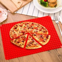 Wholesale Life Red Pyramid Pan Nonstick Silicone Baking Mat Mould Cooking Mat Oven Baking Tray