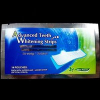 Wholesale 28pc Hydrogen Peroxide Teeth Whitening Strips applications Double Elastic Gel Strips