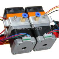 E3d Buse 0,3 / 0,35 / 0,4 / 0,5 mm en option double tête d'imprimeur MK8 Extrudeuse pour Reprap Imprimante 3D 1.75 / Filament 3mm