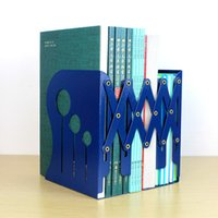 Wholesale Patent product korea stationery retractable bookend Large bookend bookshelf book end