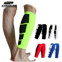 Wholesale 1PC Base Layer Compression Leg Sleeve Shin Guard Men Women Cycling Leg Warmers Running Football Basketball Sports Calf Support