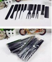 Wholesale Salon Hair Comb Set set good for barber
