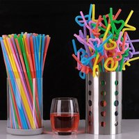 Wholesale 200pcs pack colorful disposable drink tea straw Wedding Party Decoration Drinking Straws Hot Selling event party supplies
