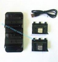 Doble muelle de carga para el controlador inalámbrico de Xbox One con el paquete de batería muelle de cable USB para iphone 4