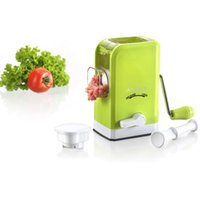 Wholesale Anself Household Mini Manual Meat Grinder Mincer Chopper Mincing Machine Kitchen Tool