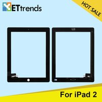 Wholesale for iPad Touch screen Glass Digitizer Assembly with Home Button M Adhesive Glue Sticker Replacement Repair Parts DHL