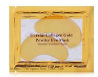 Wholesale Anti Wrinkle NEW Crystal Collagen Gold Powder Eye Mask Golden Mask stick to dark circles hot quality