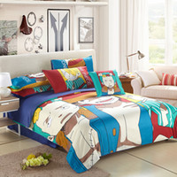 anime pillowcase - Hot Anime One Piece Bedding Set Boys Luffy Duvet Cover Bed Sheet Pillowcase Chopper Beddings Cartoon Twin Queen Home Textile
